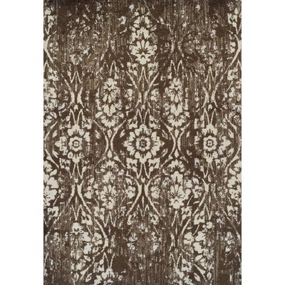 Hansley Chocolate Area Rug Rug Size: 33 x 51