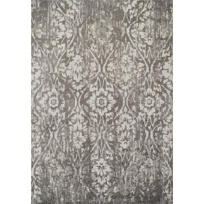 Hansley Steel Area Rug Rug Size: 33 x 51