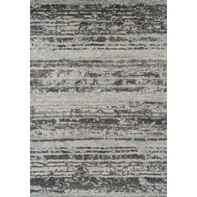 Milo Silver Area Rug Rug Size: Rectangle 411 x 7