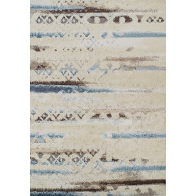 Milo Ivory Area Rug Rug Size: Rectangle 82 x 10