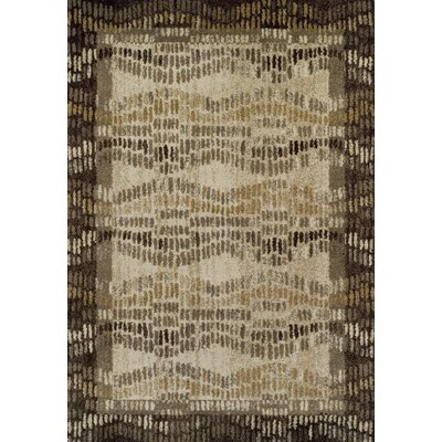 Milo Chocolate Area Rug Rug Size: Rectangle 411 x 7