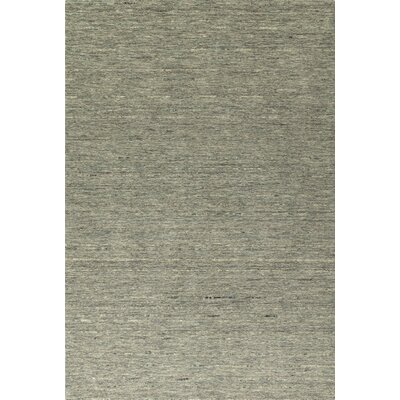 Glenville Hand-Woven Wool Fog Area Rug Rug Size: Rectangle 36 x 56