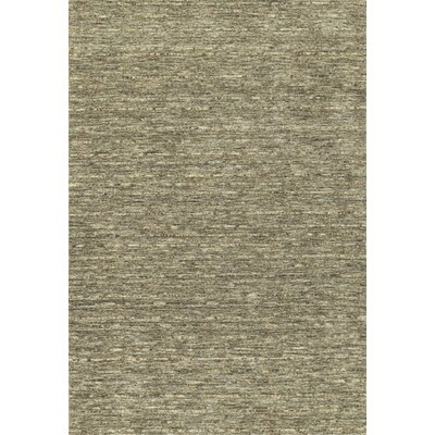 Glenville Hand-Woven Wool Fudge Area Rug Rug Size: Rectangle 5 x 76