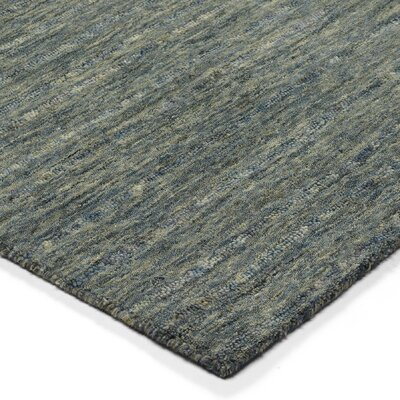 Glenville Hand-Woven Wool Lakeview Area Rug Rug Size: Rectangle 5 x 76