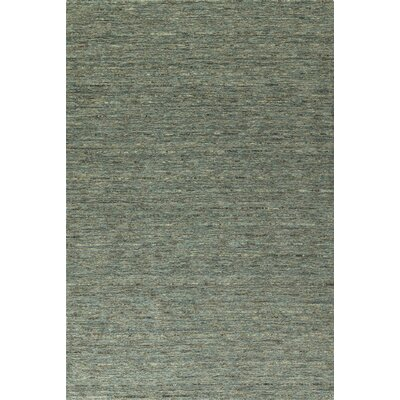 Glenville Hand-Woven Wool Turquoise Area Rug Rug Size: Rectangle 8' x 10'