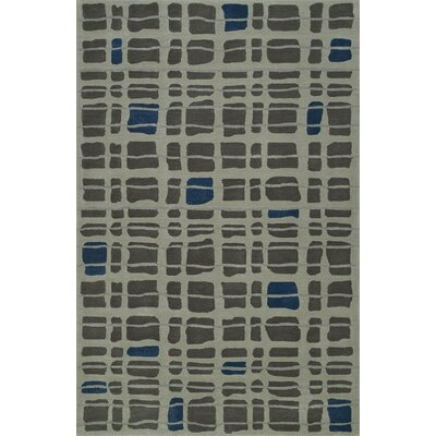 Gorham Hand-Woven Steel Area Rug Rug Size: Rectangle 8 x 10