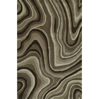 Gorham Hand-Woven Chocolate Area Rug Rug Size: Rectangle 9 x 13