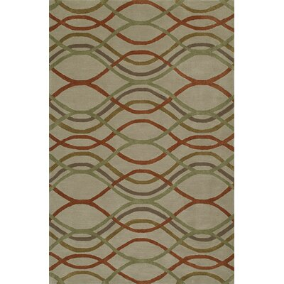 Gorham Hand-Woven Sand Area Rug Rug Size: Rectangle 36 x 56
