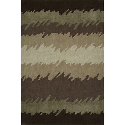 Gorham Hand-Woven Chocolate Area Rug Rug Size: Rectangle 5 x 76