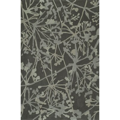 Gorham Hand-Woven Graphite Area Rug Rug Size: Rectangle 9 x 13