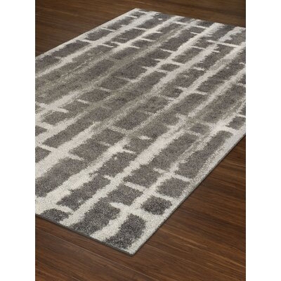 Germania Shag Charcoal Area Rug Rug Size: Rectangle 96  x  132