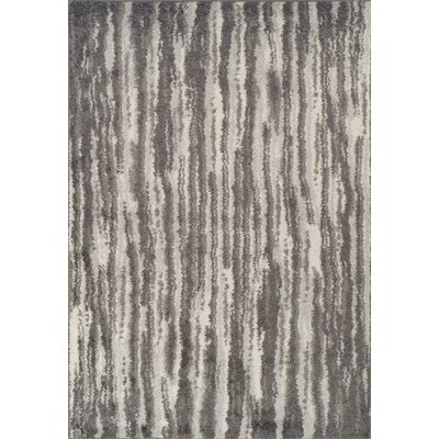 Samatha Shag Charcoal Area Rug Rug Size: Rectangle 51 x 75
