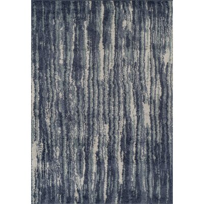 Samella Shag Navy Area Rug Rug Size: Rectangle 51 x 75