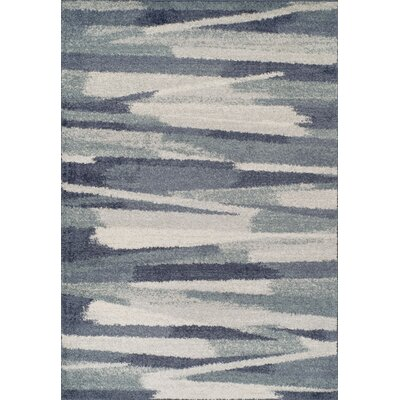 Samuel Shag Navy Area Rug Rug Size: Rectangle 96 x 132