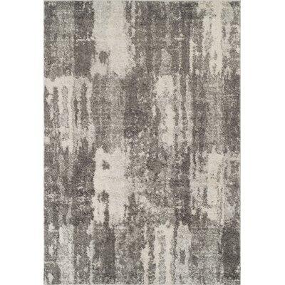 Sana Shag Ivory Area Rug Rug Size: Rectangle 5'1