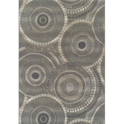Thora Steel Indoor/Outdoor Area Rug� Rug Size: Rectangle 51 x 7