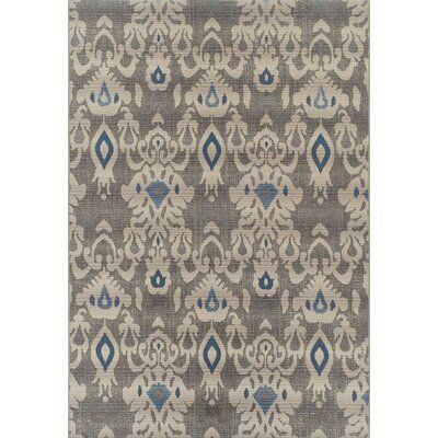 Greenport Beige/Gray Indoor/Outdoor Area Rug� Rug Size: Rectangle 33 x 51