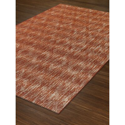 Titania Paprika Indoor/Outdoor Area Rug� Rug Size: Rectangle 51 x 7