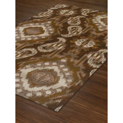 Tiznit Chocolate Indoor/Outdoor Area Rug Rug Size: Rectangle 33 x 51