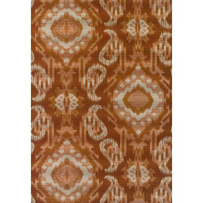 Tomo Paprika Indoor/Outdoor Area Rug Rug Size: Rectangle 51 x 7