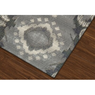 Toni Pewter Indoor/Outdoor Area Rug Rug Size: Rectangle 82 x 10