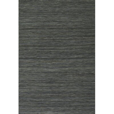 Houblon Hand Woven Wool Carbon Area Rug Rug Size: Rectangle 5 x 76