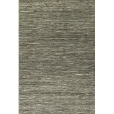 Huie Hand Woven Wool Fog Area Rug Rug Size: Rectangle 5 x 76