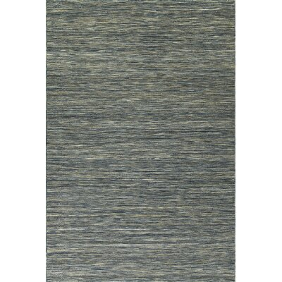 Isere Hand Woven Wool Navy Area Rug Rug Size: Rectangle 36 x 56