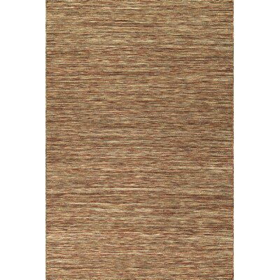Jolicoeur Hand Woven Wool Paprika Area Rug Rug Size: Rectangle 5 x 76