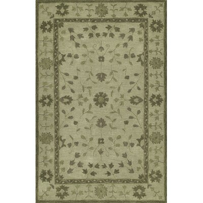 Derik Hand-Tufted Fern Area Rug Rug Size: Rectangle 5 x 76