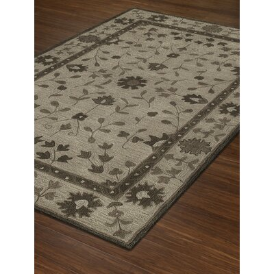 Derrik Hand-Tufted Walnut Area Rug Rug Size: Rectangle 8 x 10