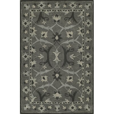 Dieter Hand-Tufted Graphite Area Rug Rug Size: Rectangle 8 x 10