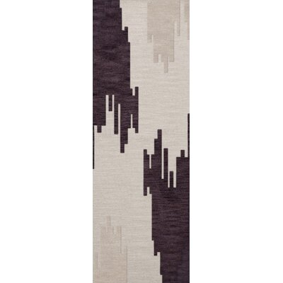 Haskin Wool Earth Area Rug Rug Size: Runner 26 x 12