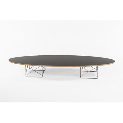 The Hobart Coffee Table Top Color: Black