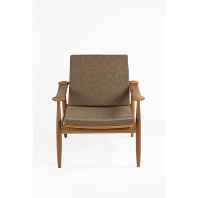 The Redford Armchair Upholstery: Brown