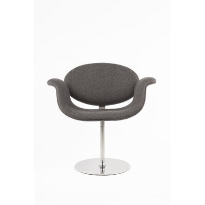 The Lily Chair Color: Dark Grey