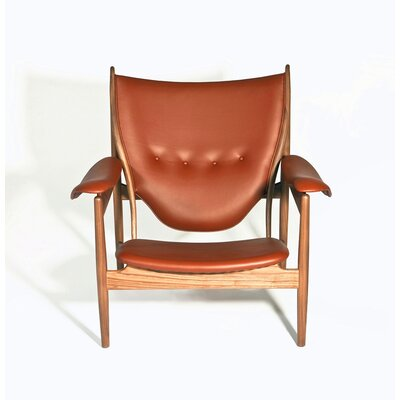 The Sterling Armchair Upholstery: Brown