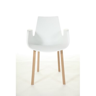 The Hordaland Armchair Color: White