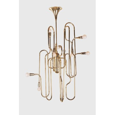 The Trumpet Sputnik Chandelier