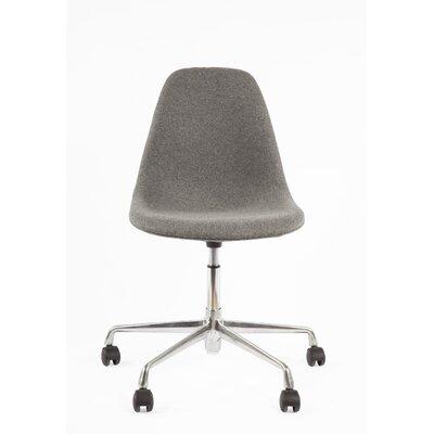 STILNOVO Mid Century Eiffel Mid-Back Task Chair - Color: Light Grey