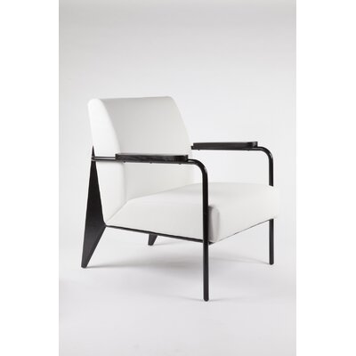 The Linz Arm Chair Color: White