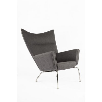 The Hoffman Lounge Chair Color: Darkish