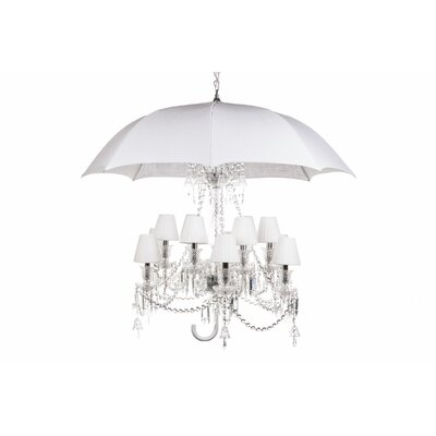 The Umbrella Shaded Chandelier