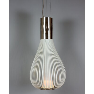 The Diaz Pendant Light Shade Color: White