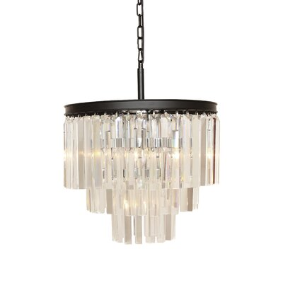 The Vanersborg 1-Light Crystal Pendant