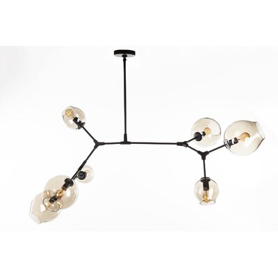 Seery Chandelier Finish: Black