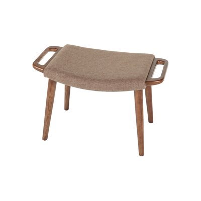 The Olsen Ottoman Upholstery: Fabric - Brown