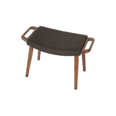 Olsen Ottoman Upholstery: Fabric - Dark Brown