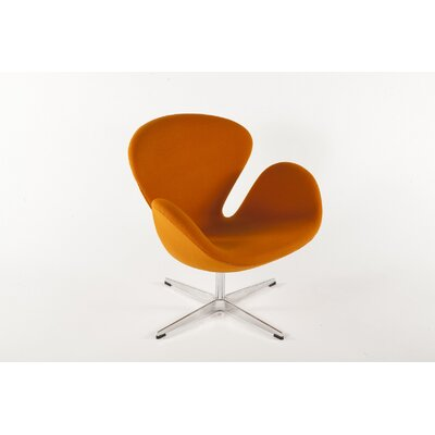 The Roberts Lounge Chair Finish: Orange