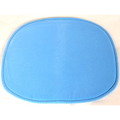 Lounge Chair Cushion Fabric: Blue